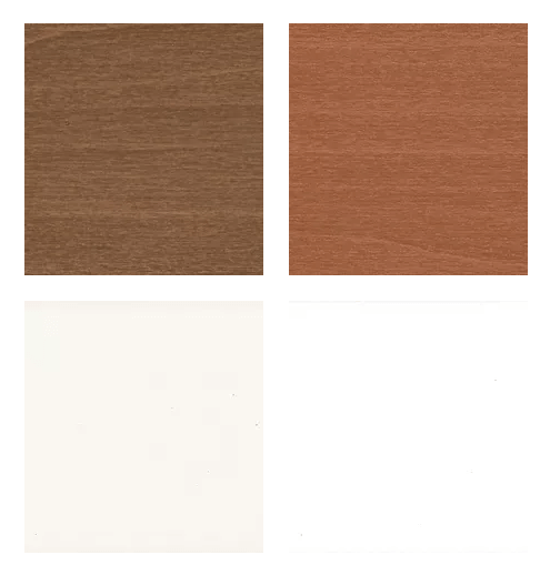 2 Inch Wood Blind Sample Colors