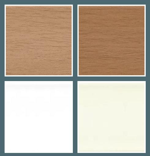 2 Inch Faux Wood Colors