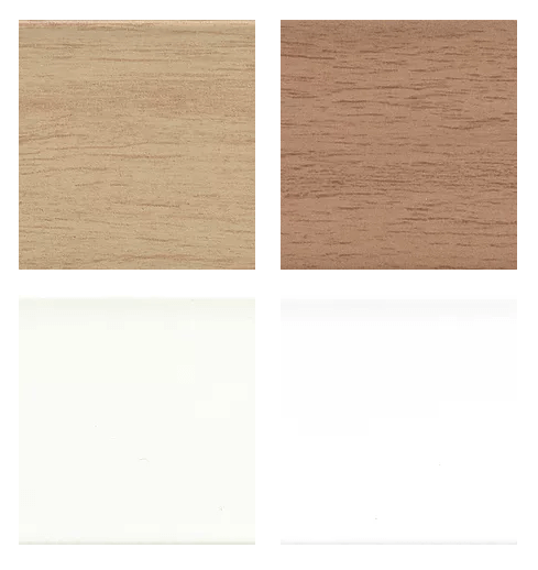 2 Inch Faux Wood Sample Colors