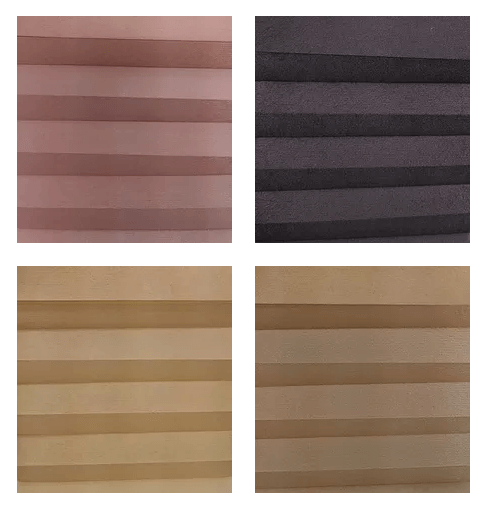 Cellular Shades Double Cell Light Filtering Samples
