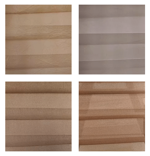 Cellular Shades Single Cell Vintage Collection Samples
