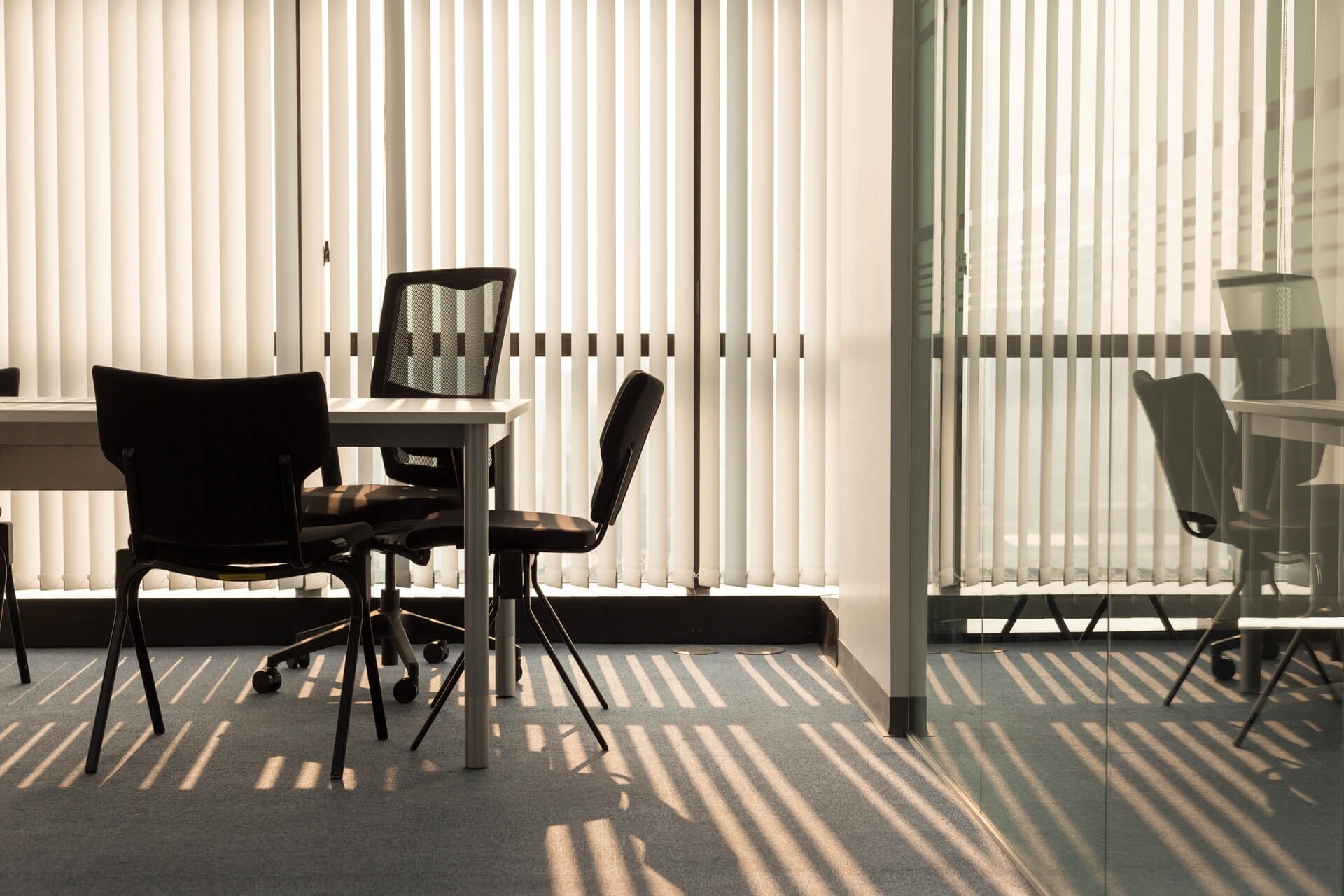 Office Commercial Vertical Blinds